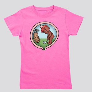golf-womb-ds-T Girl's Tee