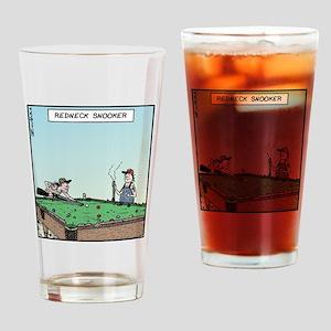 Redneck Snooker Drinking Glass