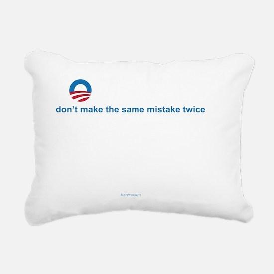 Forewarned Rectangular Canvas Pillow