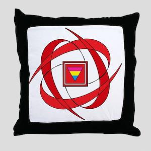 Flux Love Throw Pillow
