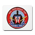 USS OHIO Mousepad