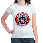 USS OHIO Jr. Ringer T-Shirt