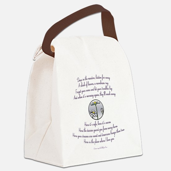 Katniss sings to Rue sq Canvas Lunch Bag