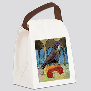 stadiumBlanketWellRaven Canvas Lunch Bag