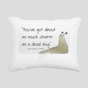 Dead Slug Rectangular Canvas Pillow
