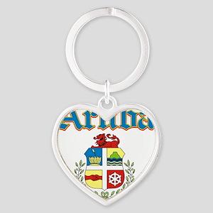 aruba Heart Keychain