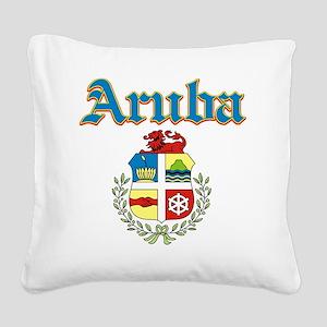 aruba Square Canvas Pillow