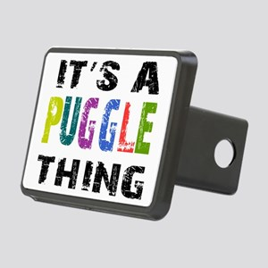 pugglething Rectangular Hitch Cover