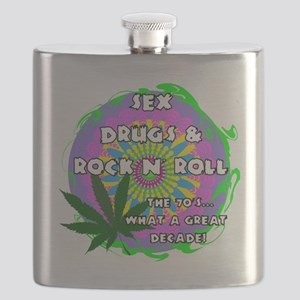 THE 70S WHAT A GREAT DECADE Flask
