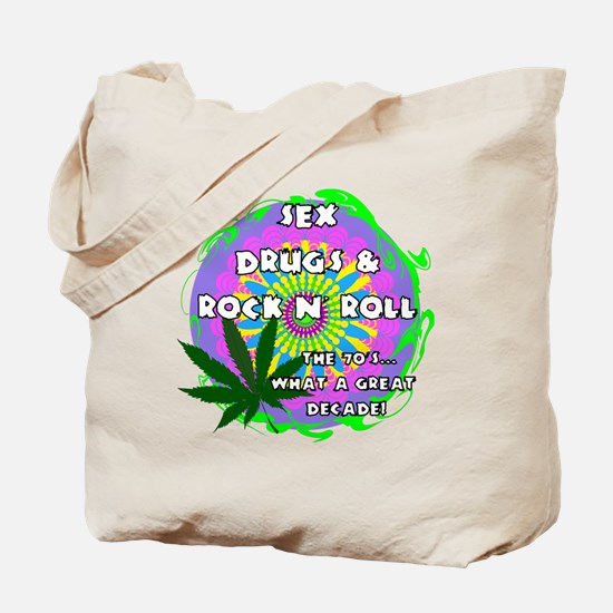 THE 70S WHAT A GREAT DECADE Tote Bag