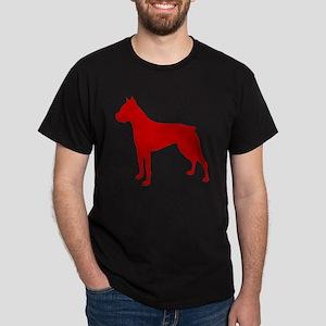 Boxer Red Dark T-Shirt
