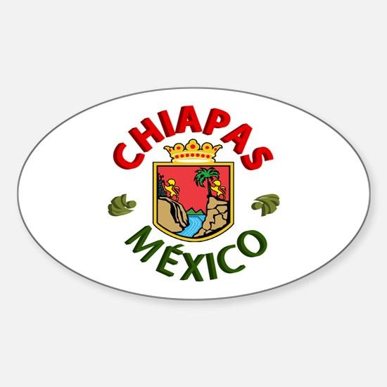 Chiapas Oval Decal