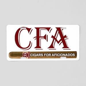 CFA Aluminum License Plate