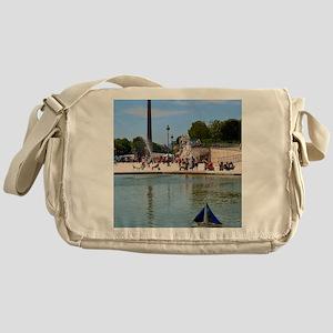 Summer in the Tuileries Messenger Bag