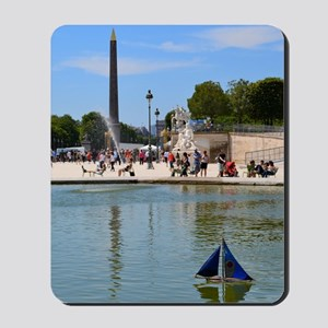 Summer in the Tuileries Mousepad