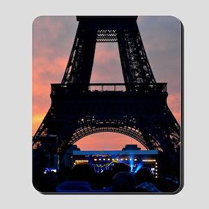 Eiffel Tower at Sunset, Bastille Day Mousepad