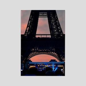 Eiffel Tower at Sunset, Bastille  Rectangle Magnet