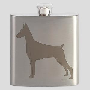 FawnDoberman Flask