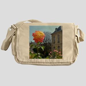 Rose at the Musée Rodin Messenger Bag