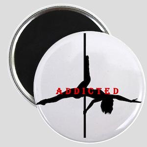 Addicted Black/Red Magnet