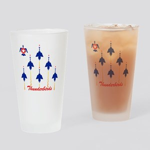 Thunderbirds Drinking Glass