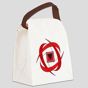 Flux Love Canvas Lunch Bag