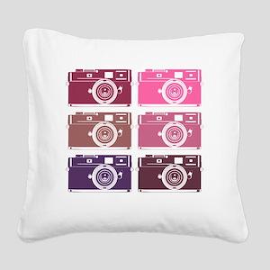 photoGIRLS Square Canvas Pillow