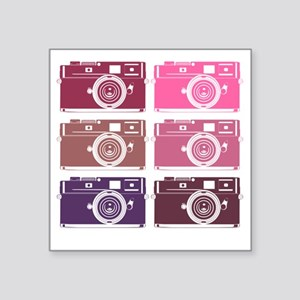 "photoGIRLS Square Sticker 3"" x 3"""