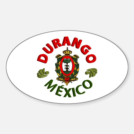 Durango Oval Decal