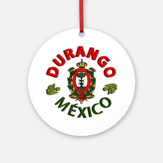 Durango Ornament (Round)