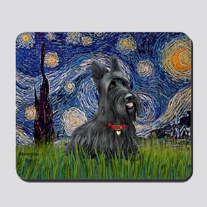 Starry-Scotty1 Mousepad