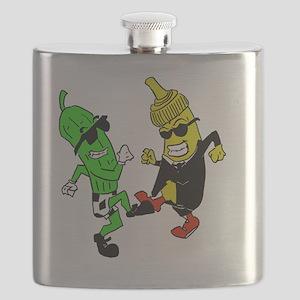 Mustard Pickle Flask