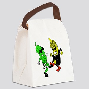 Mustard Pickle Canvas Lunch Bag