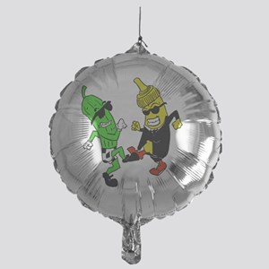 Mustard Pickle Mylar Balloon