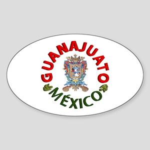 Guanajuato Oval Sticker
