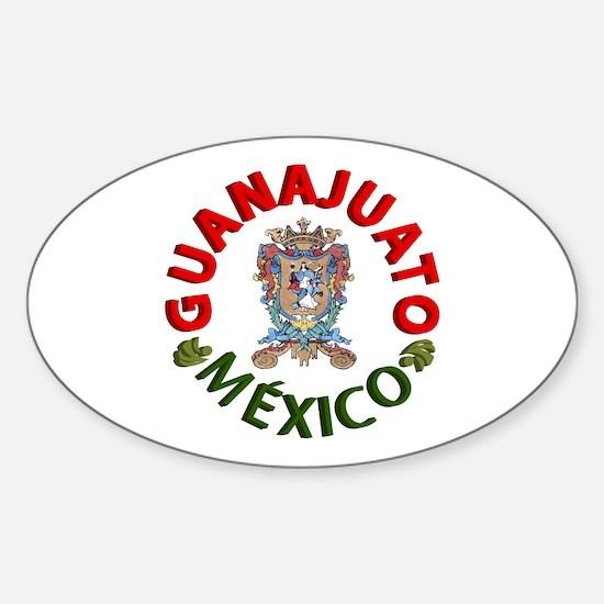 Guanajuato Oval Decal