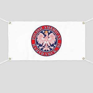 Hamtramck Michigan Polish Banner