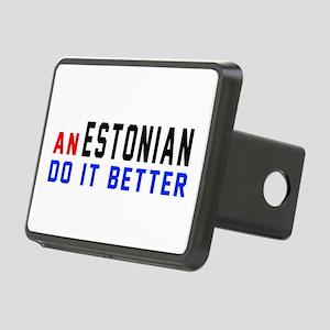 Estonia Do It Better Rectangular Hitch Cover