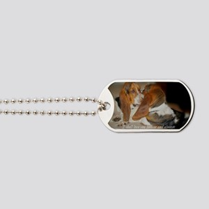Rescue a hound today Dog Tags
