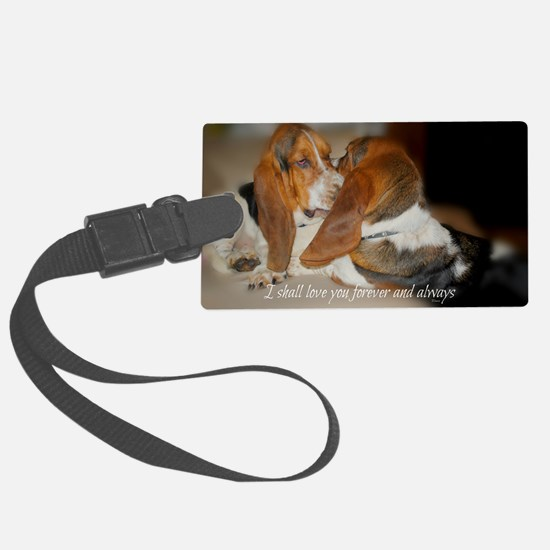 Rescue a hound today Luggage Tag