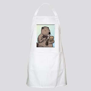 Mother Beaver and Baby Apron