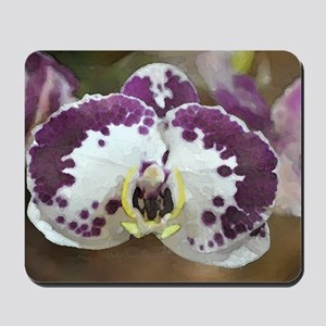 Inkblot Moth Orchid Mousepad