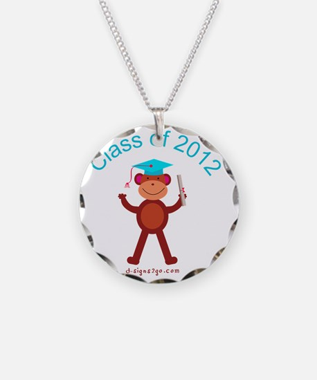 Graduation 2012 Necklace Circle Charm