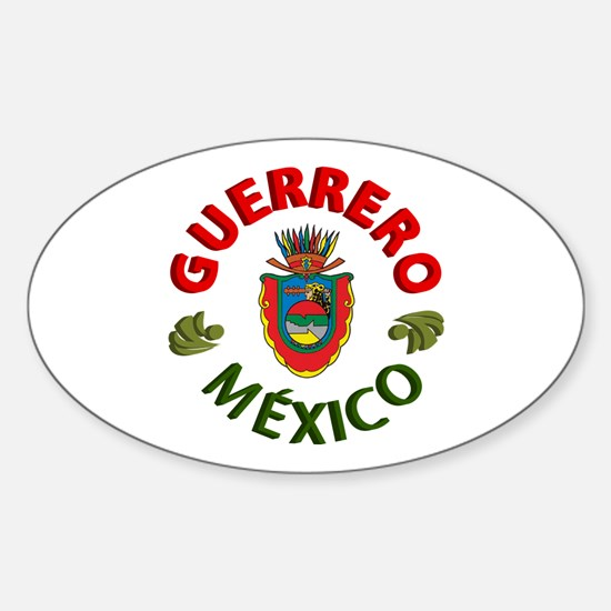 Guerrero Oval Decal