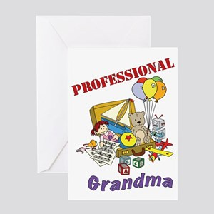 Professional Grandma Graphic Greeting Card