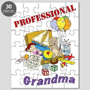 Professional Grandma Graphic Puzzle