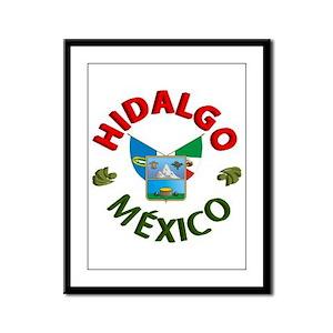 Hidalgo Framed Panel Print
