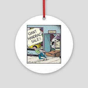 Giant Handbag Sale!! Round Ornament