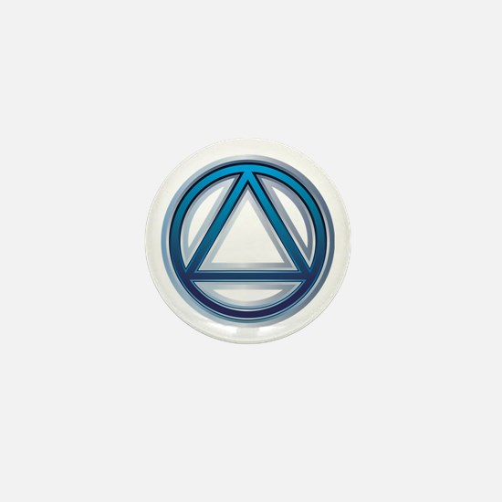Cute Alcoholics anonymous recovery Mini Button