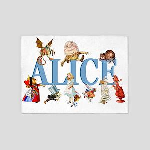 Alice Blue 3 5'x7'Area Rug